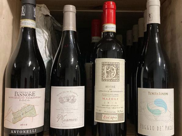 wine at il sovrano